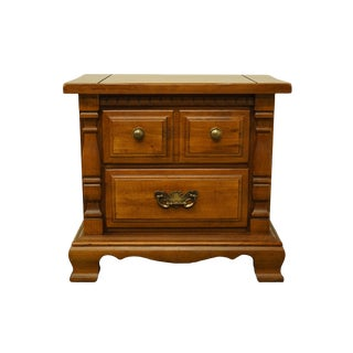 "Sumter Cabinet Co. Solid Pine Rustic Country Style 26"" Commode Nightstand For Sale"
