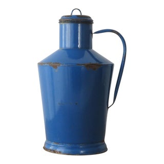 Vintage Hungarian Blue Water Pitcher