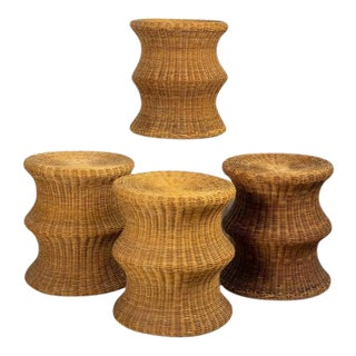 Mid-Century Eero Aarnio for Stedig Mushroom Stools - Set of 4 For Sale