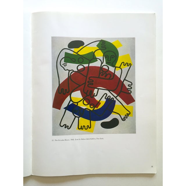 """This Fernand Leger rare vintage 1962 limited edition """" Five Themes and Variations """" Guggenheim Museum exhibition Catalogue..."""