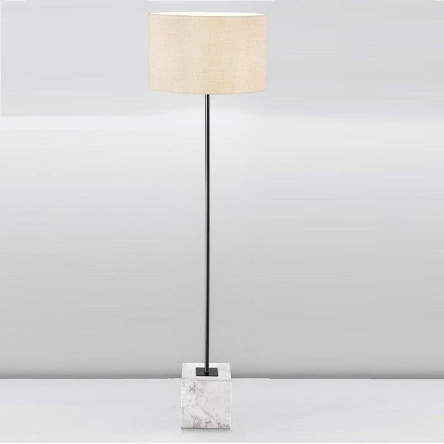 Modern Rock Floor Lamp For Sale - Image 3 of 4