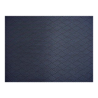 Scalamandre Nodo Nuit Blue Lattice Upholstery Fabric- 11 3/8 Yards For Sale