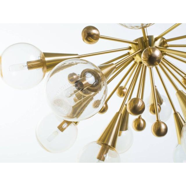 Modern Sputnik Chandelier For Sale - Image 3 of 11