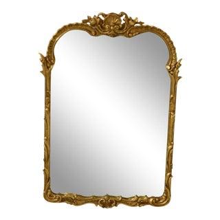 Friedman Brothers Gold Framed Mirror For Sale