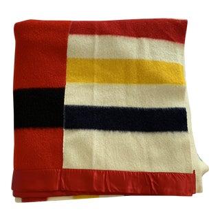 Custom King Size Hudson's Bay Point Blanket For Sale