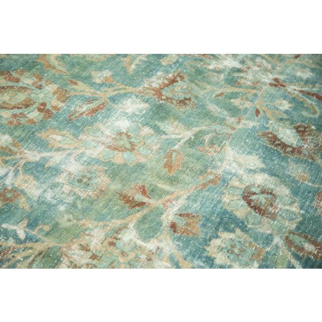 "Old New House Vintage Kerman Carpet - 9'9"" x 13'2"" For Sale - Image 4 of 10"