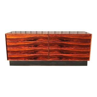 Westnofa of Norway Mid Century Rosewood 8 Drawer Dresser For Sale