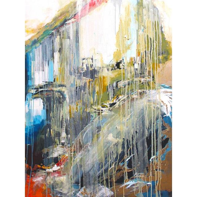 Large Stone & Ice Acryllic Painting by Jaimee - Image 1 of 3