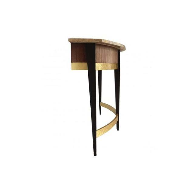 Art Deco Art Deco Baker Furniture Company Marble Top Console Table For Sale - Image 3 of 6