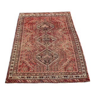 "Antique Persian Southwest Rug 6'7""x9'11"" For Sale"