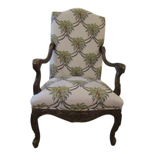 Pleasant Vintage Used Green Accent Chairs Chairish Caraccident5 Cool Chair Designs And Ideas Caraccident5Info