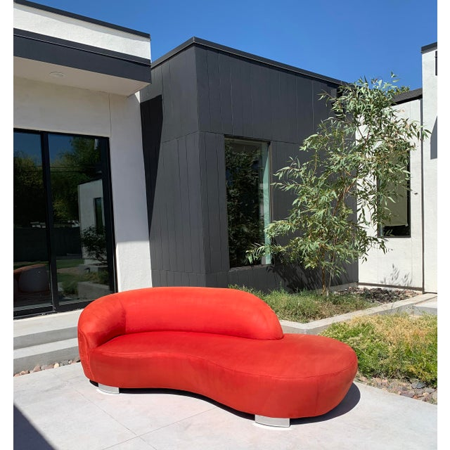 Mid-Century Modern Vladimir Kagan Cloud Sofa For Sale - Image 3 of 7