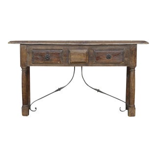 Antique Farmhouse French Console