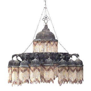 20th Century Middle Eastern Moorish Style Chandelier For Sale