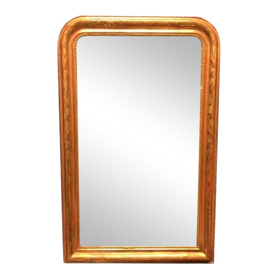 19th Century Gold Leaf Louis Philippe Mirror For Sale