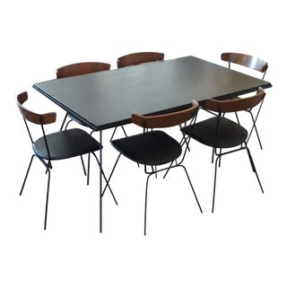 1950s Mid-Century Modern Clifford Pascoe Dining Set - 7 Pieces For Sale