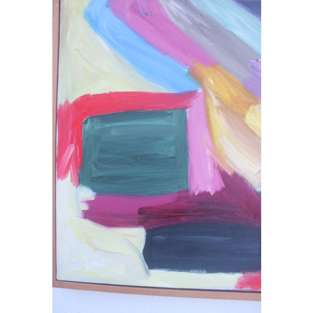 1986 Vintage Expressionist Painting For Sale - Image 9 of 10