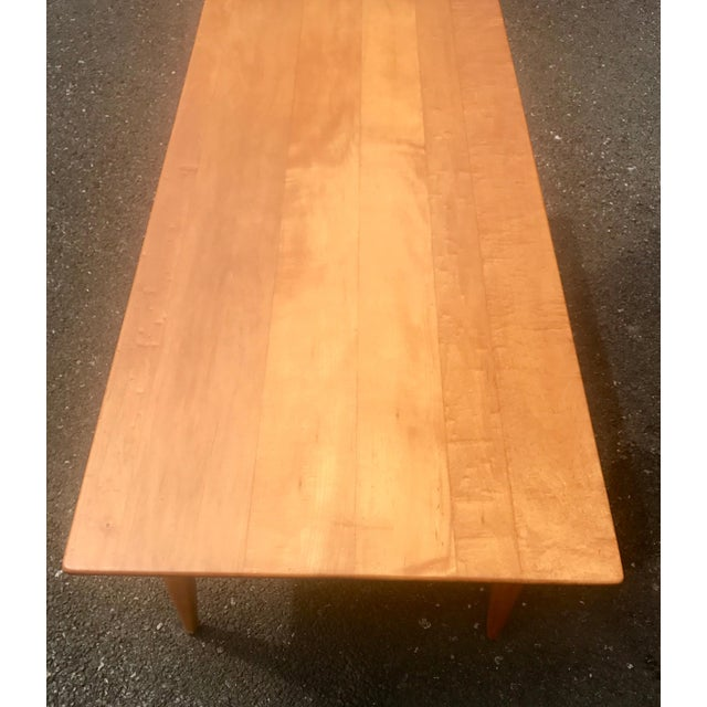 Mid-Century Modern Mid-Century Two Level Maple Coffee Table For Sale - Image 3 of 8