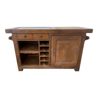 Rustic French Farmhouse Sideboard For Sale