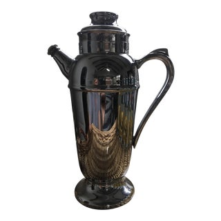 Early 20th C. Coffee Pot Cocktail Shaker