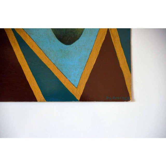 Pair of Whimsical Surrealist Oil on Panel Paintings in Shadow Boxes For Sale In Los Angeles - Image 6 of 8