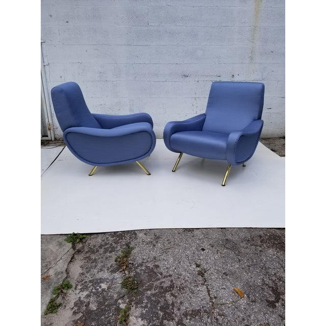 Marco Zanuso Lady Chair- A Pair For Sale - Image 10 of 10