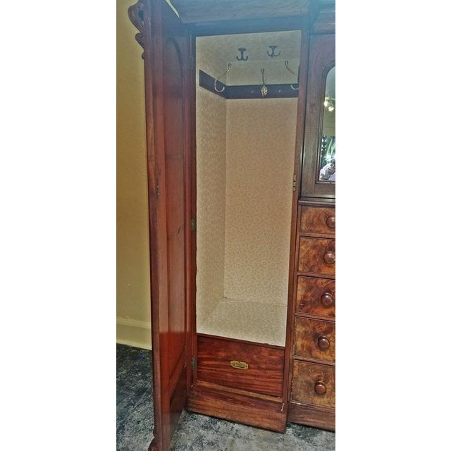 BEAUTIFUL Early 19th Century......circa 1830 ..... William IV Period ......mahogany Regency Gothic Revival Wardrobe or...