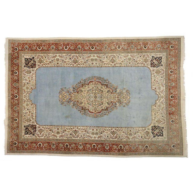 Vintage Mid-Century Persian Tabriz