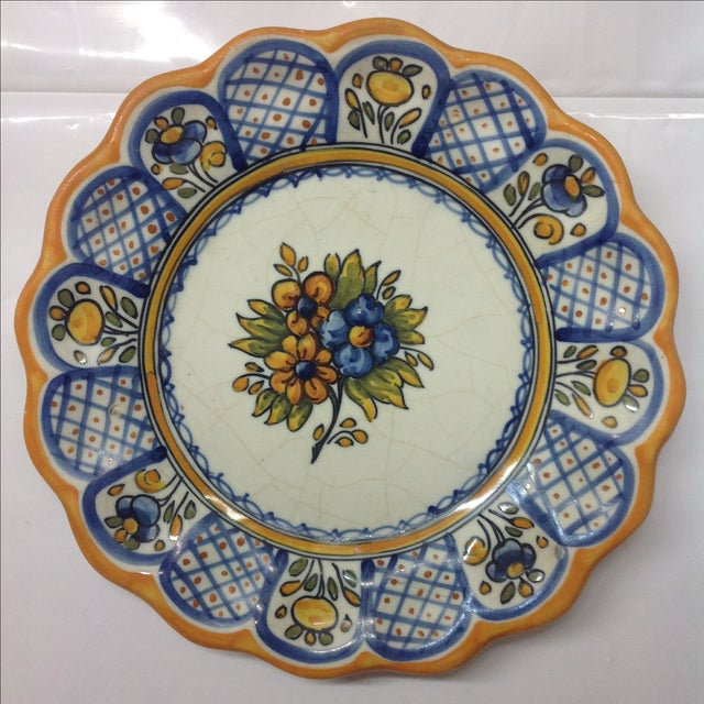 Talabricense Puebla Talavera Charger - Image 2 of 4