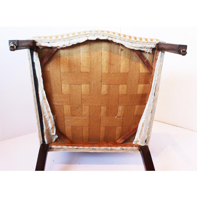 Mahogany George II Mahogany Library Armchair For Sale - Image 7 of 7