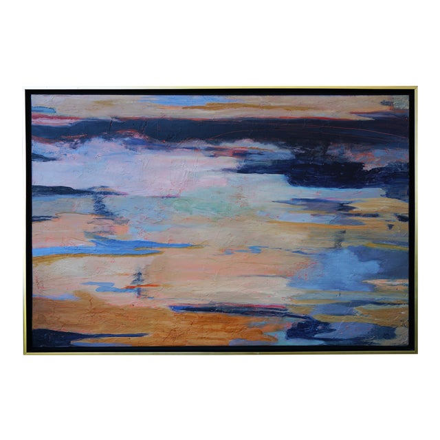 """Laurie MacMillan """"Apparition"""" Abstract Painting For Sale"""