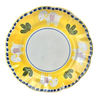 Vietri Chapel Hill Plate For Sale