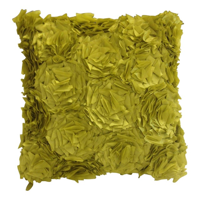 Kendall Wilkinson Green Kalon Pillow - Image 1 of 5
