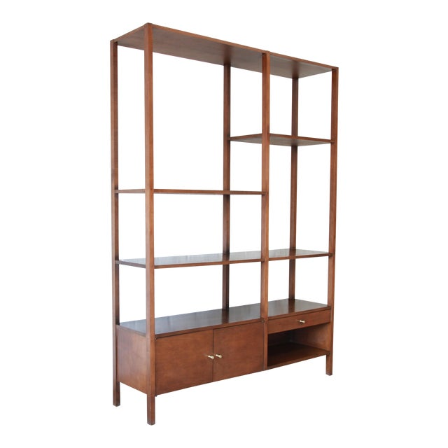 Paul McCobb Planner Group Mid-Century Wall Unit or Room Divider For Sale - Image 11 of 11