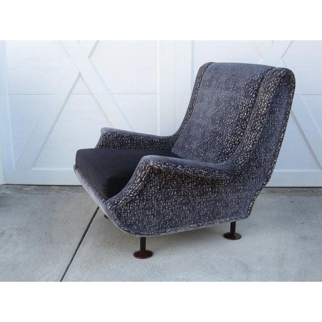 Italian Marco Zanuso Regent Italian Lounge Chair - a Pair For Sale - Image 3 of 12
