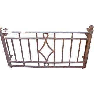 Deco Style Wrought Iron Balcony