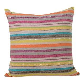 Vintage Striped Turkish Pillow