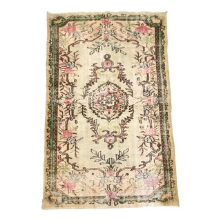 Late 19th Century Antique Turkish / Isparta Rug - 5′6″ × 9′4″ For Sale