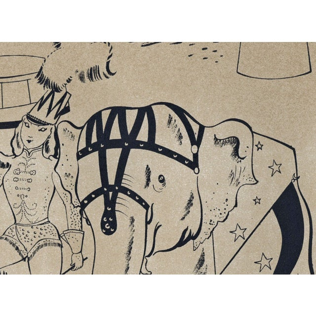 1944 Lithographs - Circus: # 52 & 75 - A Pair - Image 3 of 7