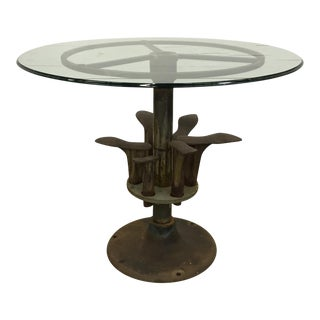 19th Century Belgian Shoe Cobbler Table For Sale