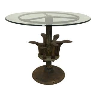19th Century Belgian Shoe Cobbler Table