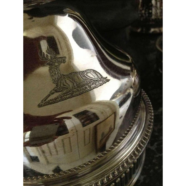 Platinum Silver Sheffield Food Warmers - a Pair For Sale - Image 8 of 9