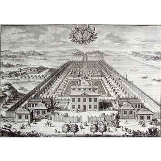 Swedish Baroque Noor Estate Engraving For Sale