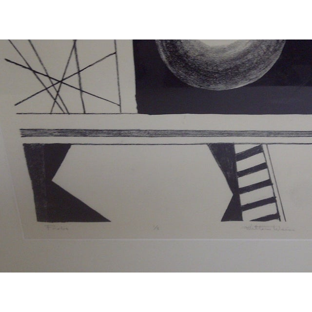 Weiss Probe, Limited Edition Print by Milton Weiss For Sale - Image 4 of 9
