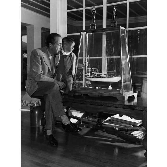 1950s Humphrey Bogart and Son, Stephen, at Home 1952 For Sale - Image 5 of 5
