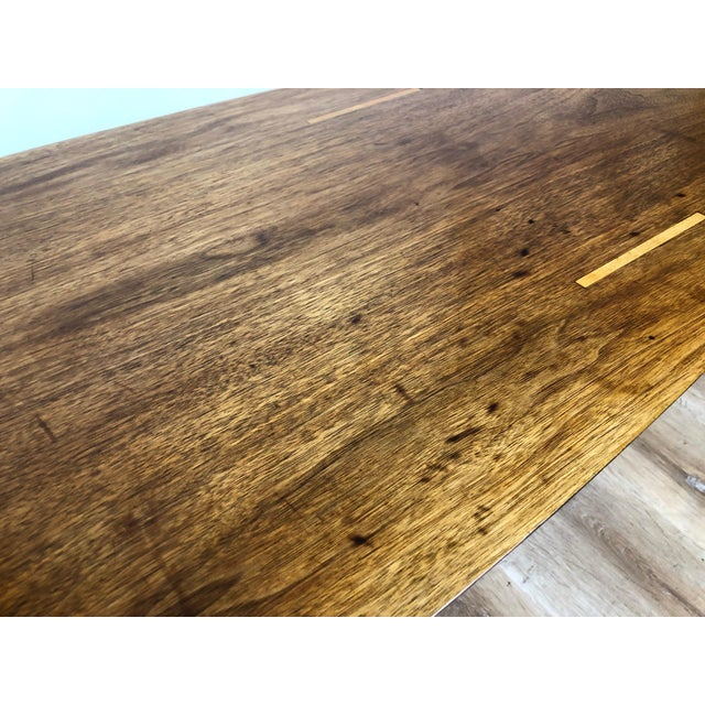 Brown Abel Sorensen for Knoll Surfboard Coffee Table For Sale - Image 8 of 13