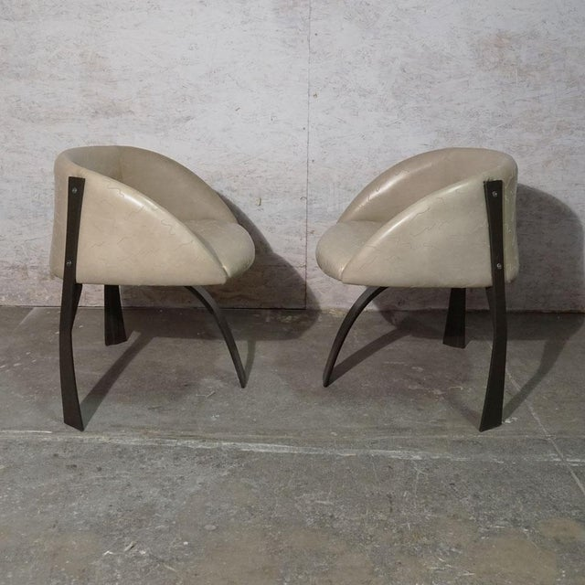 Metal Pod Dining Chair For Sale - Image 7 of 10