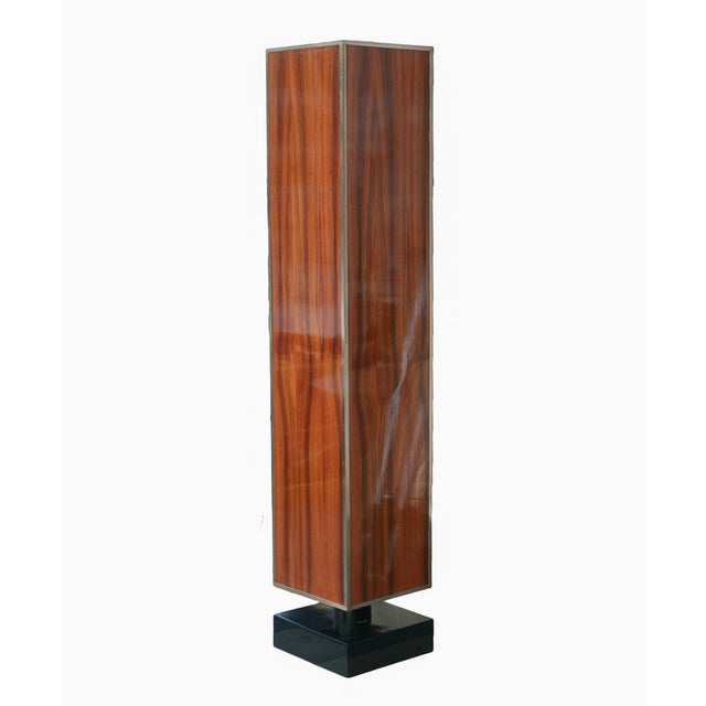 Not Yet Made - Made To Order Rosewood and Lacquer Pedestal or Column For Sale - Image 5 of 5