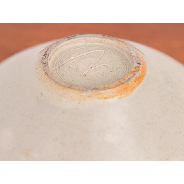 Bone Bone Porcelain Serving Bowl by Mary Roehm For Sale - Image 7 of 9