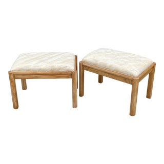 Vintage Benches - a Pair For Sale